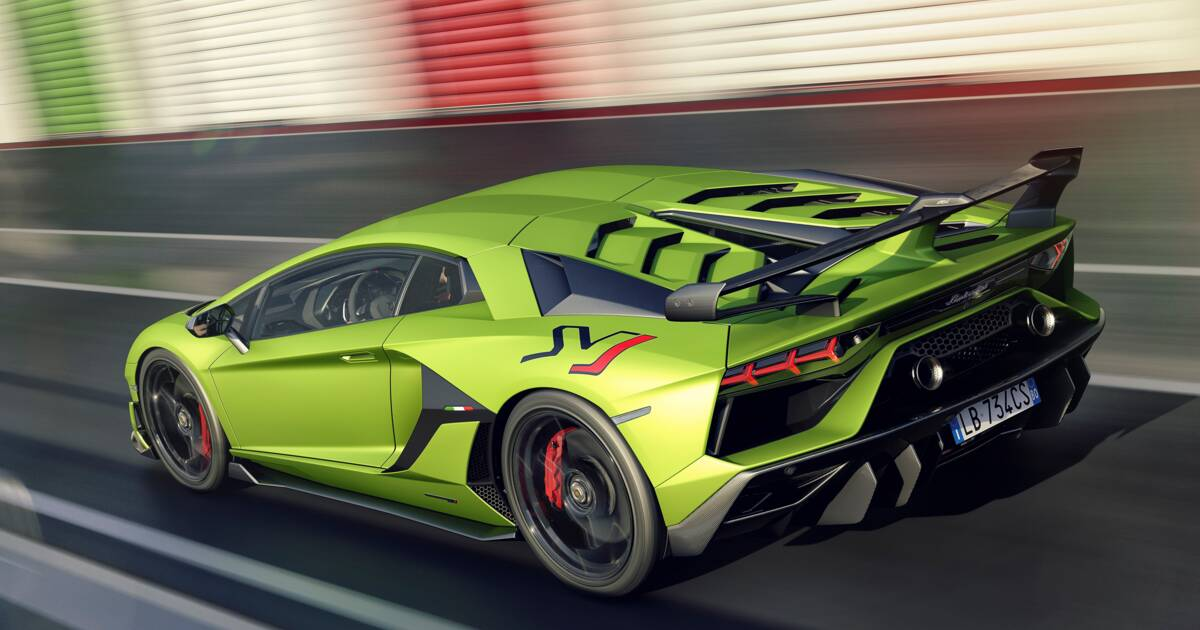 Lamborghini Aventador Svj Power Design Engine Price Know All