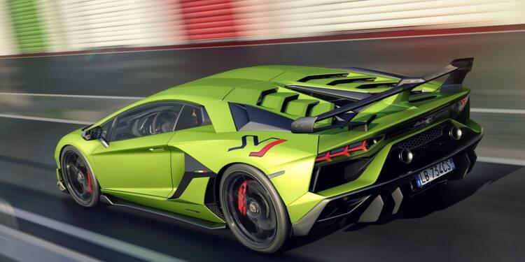 Lamborghini Aventador Svj Puissance Design Motorisation Prix