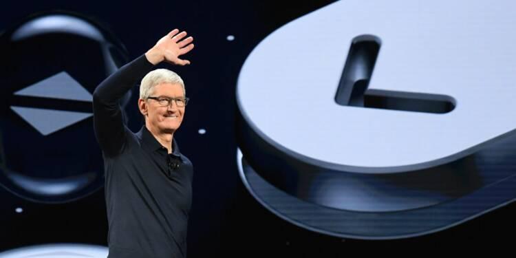 Apple au sommet : Tim Cook va s'en mettre plein les poches