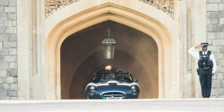 La Jaguar du mariage de Meghan et Harry est en vente !