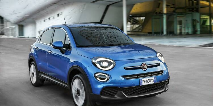fiat 500x le petit suv n o r tro fait peau neuve pour contrer la mini countryman. Black Bedroom Furniture Sets. Home Design Ideas