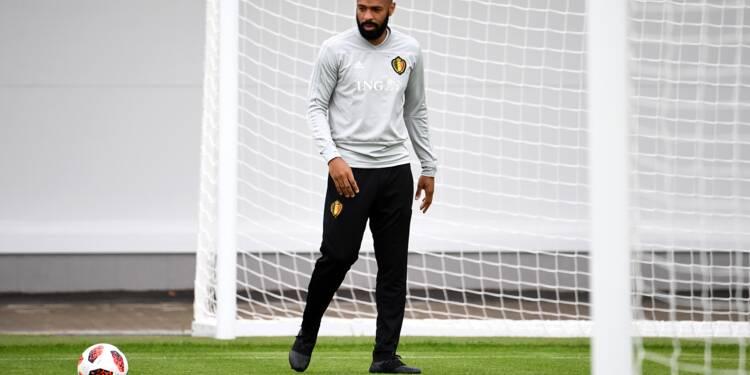 Belgique: Thierry Henry promu premier adjoint du sélectionneur Martinez
