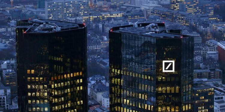 Deutsche Bank veut conserver sa présence mondiale