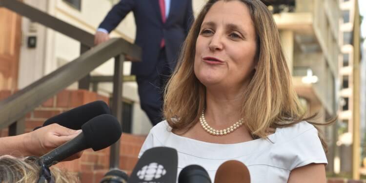 """Négociations commerciales avec les Etats-Unis: le Canada se dit """"optimiste"""""""