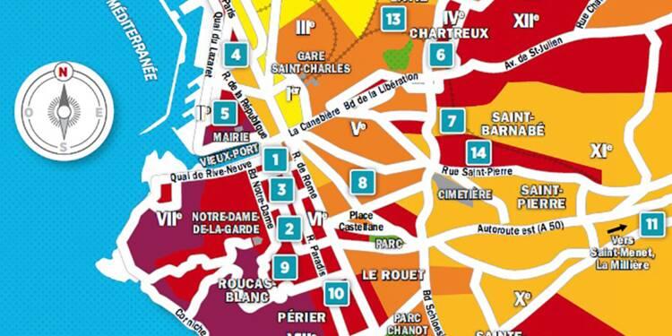 Immobilier à Marseille : la carte des prix 2018