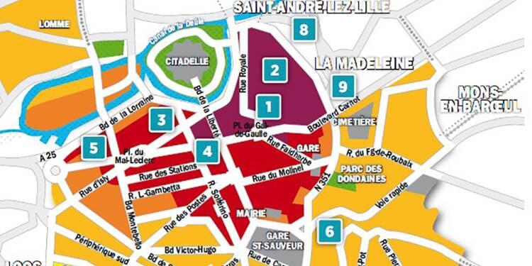 Immobilier à Lille : la carte des prix 2018