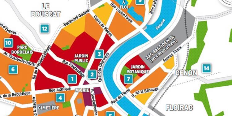 Carte Bordeaux Par Quartier.Immobilier A Bordeaux La Carte Des Prix 2018 Capital Fr