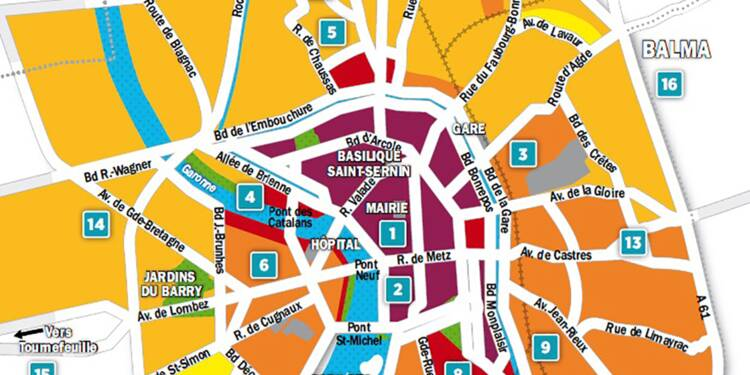 Carte Accord Tarif.Immobilier A Toulouse La Carte Des Prix 2018 Capital Fr
