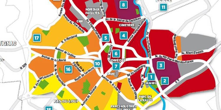 Immobilier à Montpellier : la carte des prix 2018