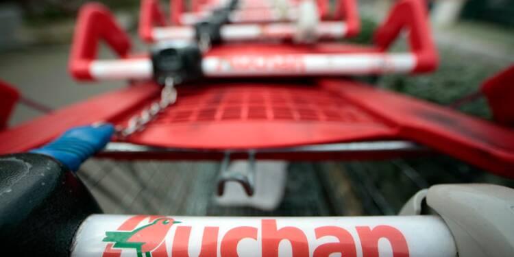 Auchan se stabilise en France au 1er semestre, mais la Russie et des charges pèsent
