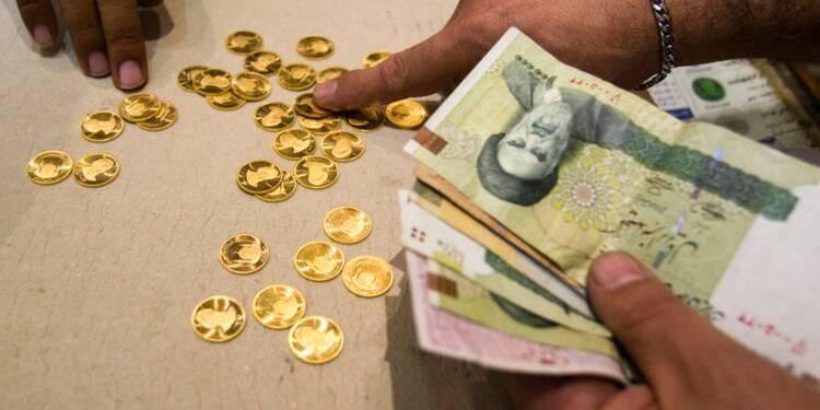 Le rial iranien touche un nouveau plus bas