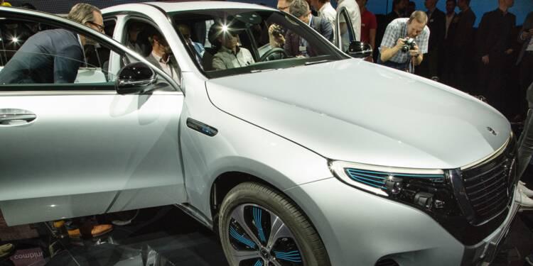 Le conseil Bourse du jour : Avec Mercedes EQC, Daimler va défier Tesla !