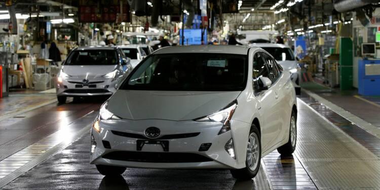 Toyota va rappeler 1,03 million de véhicules hybrides dans le monde