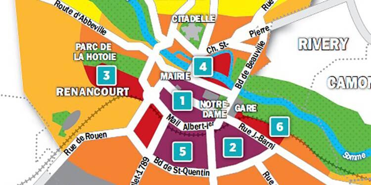 Immobilier à Amiens : la carte des prix 2018