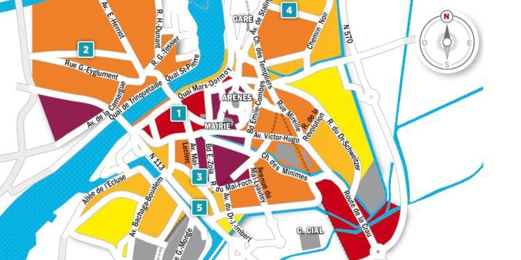 Immobilier à Arles : la carte des prix 2018