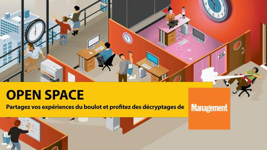 Rejoignez Open Space, le groupe Facebook de Management qui parle de la vie au boulot