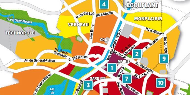 Immobilier à Angers : la carte des prix 2018