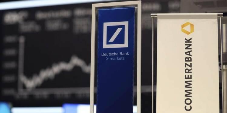 Une fusion séduit de plus en plus Deutsche Bank et Commerzbank
