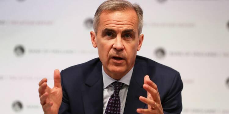 Carney à tête de la BoE jusqu'en janvier 2020