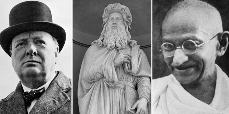 De Machiavel à Gandhi, ces personnalités vont vous inspirer au boulot