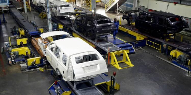 USA: Le secteur automobile soutient la production industrielle