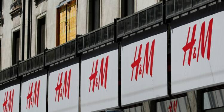 Les ventes de H&M meilleures que prévu, l'action bondit