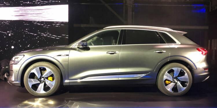 Audi lance son SUV électrique en Californie, dans le fief de Tesla