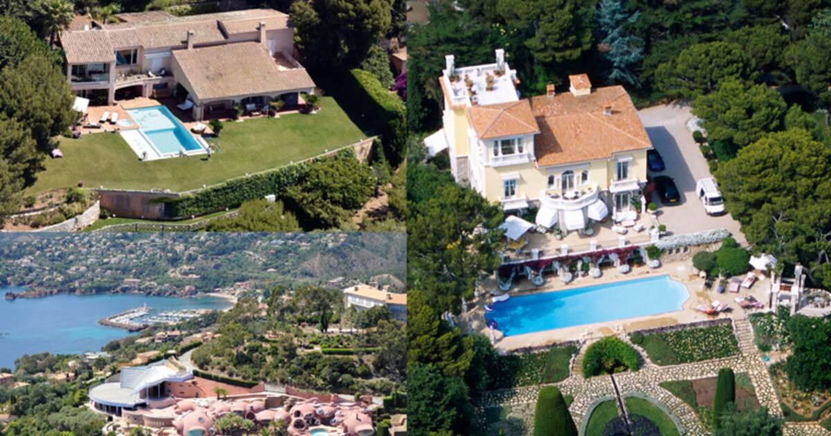 Wertheimer, al-Thani, Jamel Debbouze... les superbes villas des stars du business en PACA