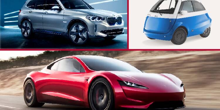 BMW iX3, Tesla Roadster, Microlino… voici 11 stars électriques du Mondial de l'auto