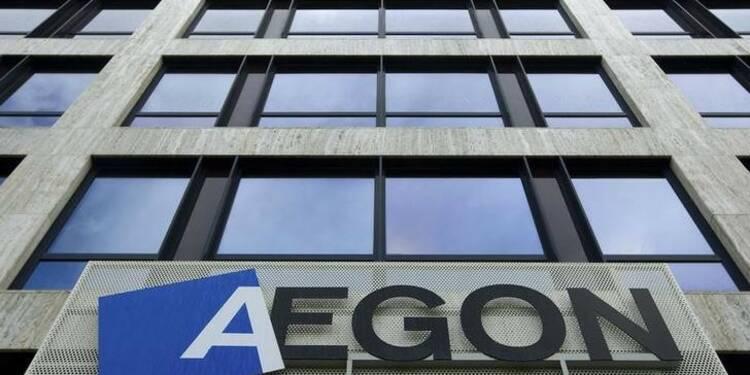 Aegon veut fusionner des entités américaines, hausse du titre