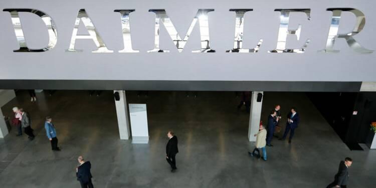Daimler désigne Ola Källenius comme prochain président du directoire