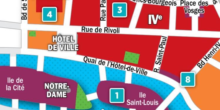 Immobilier à Paris : la carte des prix 2018 dans les 3e et 4e arrondissements