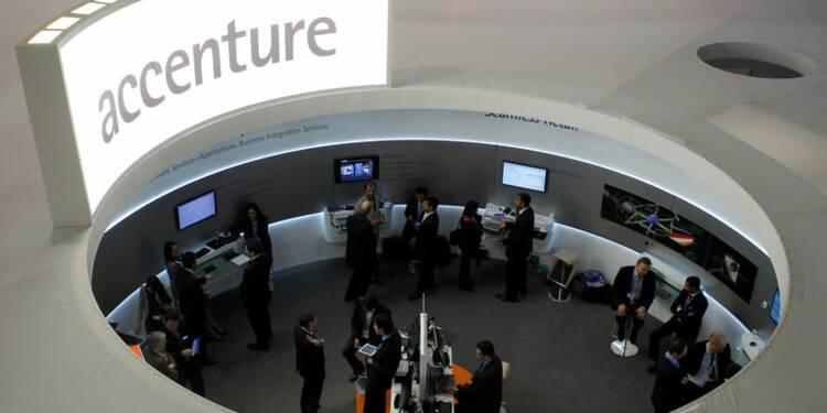Accenture déçoit avec ses prévisions, le titre souffre