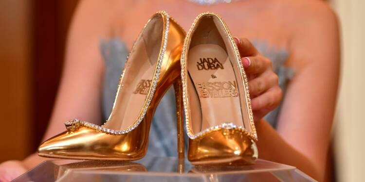 bon marché les plus récents professionnel Les chaussures les plus chères du monde sont en vente à ...
