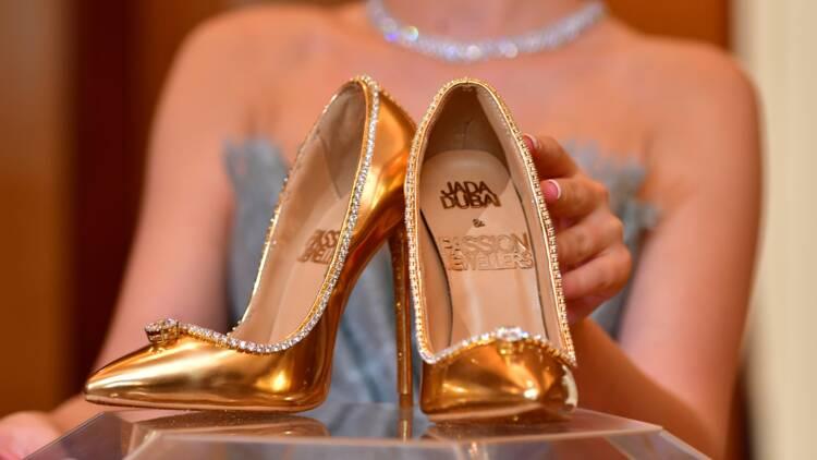 Les chaussures les plus chères du monde sont en vente à Dubaï
