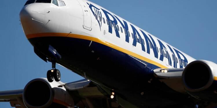 Ryanair revoit à la baisse son objectif de bénéfice, la grève pèse