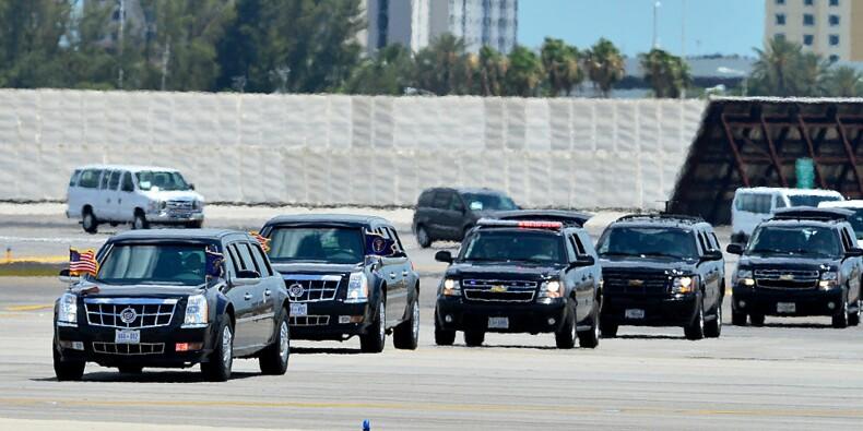 "Cadillac One ""The Beast"" : Donald Trump a enfin sa propre limousine présidentielle"