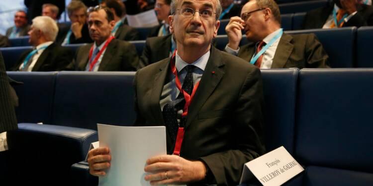 La BCE ne se laissera pas influencer par les politiques budgétaires, dit Villeroy