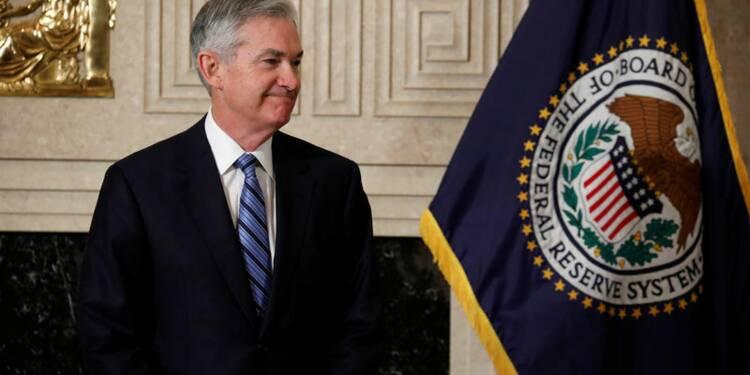 """Powell (Fed) évoque des perspectives """"remarquablement positives"""""""