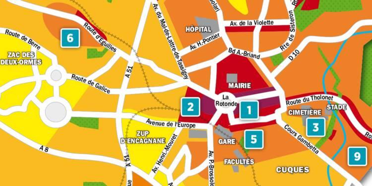 Immobilier à Aix-en-Provence : la carte des prix 2018