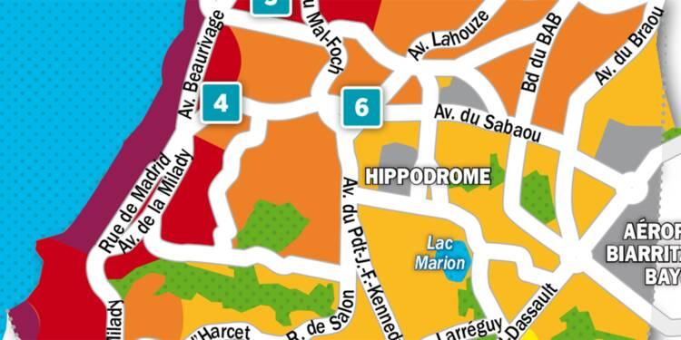 Immobilier à Biarritz : la carte des prix 2018