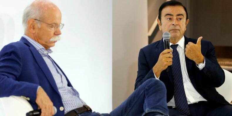 Renault et Daimler veulent coopérer dans les nouvelles mobilités