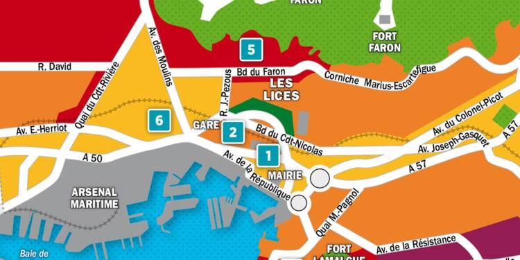 Immobilier à Toulon : la carte des prix 2018