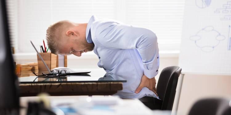 Mal au dos au bureau ? Un exercice pour vous soulager