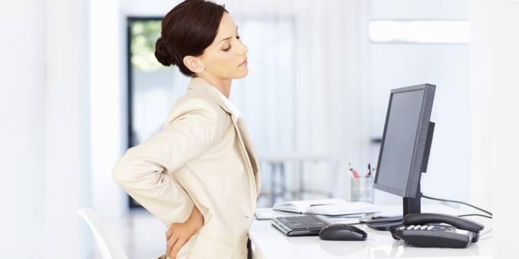 Un exercice pour muscler votre dos au boulot