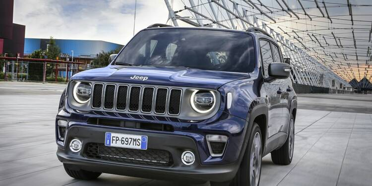 Jeep dévoile la nouvelle version de son SUV Renegade, best-seller en Europe