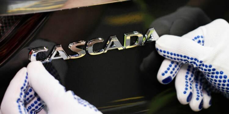 Opel va abandonner les modèles ADAM et Cascada, privilégie les SUV