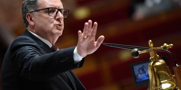 """Tweet attaquant Macron: Trump parle en """"voyageur de commerce"""", selon Ferrand"""