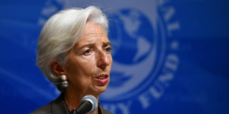 Guerre commerciale, Brexit, Italie, dettes… Le FMI s'alarme de l'envolée des risques