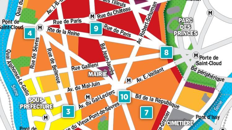 Immobilier à Boulogne-Billancourt : la carte des prix 2018